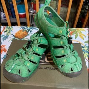 KEEN Sport Sandals Clearwater  Greenbriar